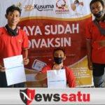 Atlet dan Pelatih Puslatkab Divaksin Bergilir di Pamekasan