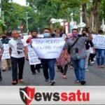 Wartawan Probolinggo Gelar Aksi Solidaritas Kekerasan Terhadap Wartawan Tempo