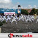 Polres Sampang Tingkatkan Kemampuan Personil Dengan 50 Gerakan Bela Diri