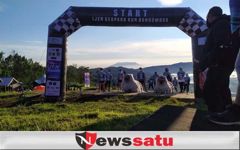 Geopark Run Exhibition Libatkan 10 Pelari Nasional