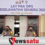 Polres Sampang, Gelar Latihan Praops Keselamatan Semeru dan Sosialisasi Larangan Mudik