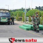 Korem Bhaskara Jaya Salurkan Bantuan Untuk Korban Gempa di 2 Daerah