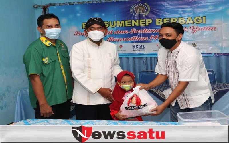 PWI Sumenep Berikan Santunan Pada Anak Yatim