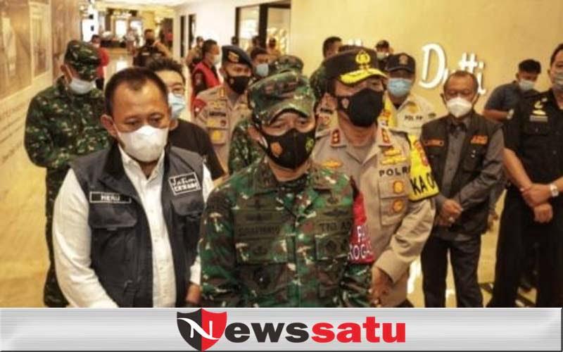 Pastikan Penerapan Prokes, Kapolda dan Pangdam Sidak TP Surabaya