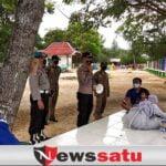 Pengunjung Pantai Talang Siring Diawasi Polres Pamekasan