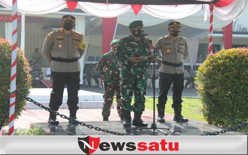 Polres Bondowoso Siagakan Ratusan Personil Gabungan Di Perbatasan