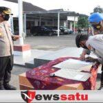 Polres Pamekasan Komitmen Bebas Narkoba, Semua Jajaran Tanda Tangani Pakta Integritas