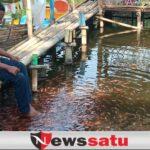 Wisata Ranu Sentong Kota Probolinggo Ramai-ramai Pengunjung