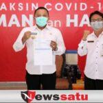 Bupati Sampang Disuntik Vaksin Dosis Kedua, Pemkab Imbau Warga Siap Divaksin