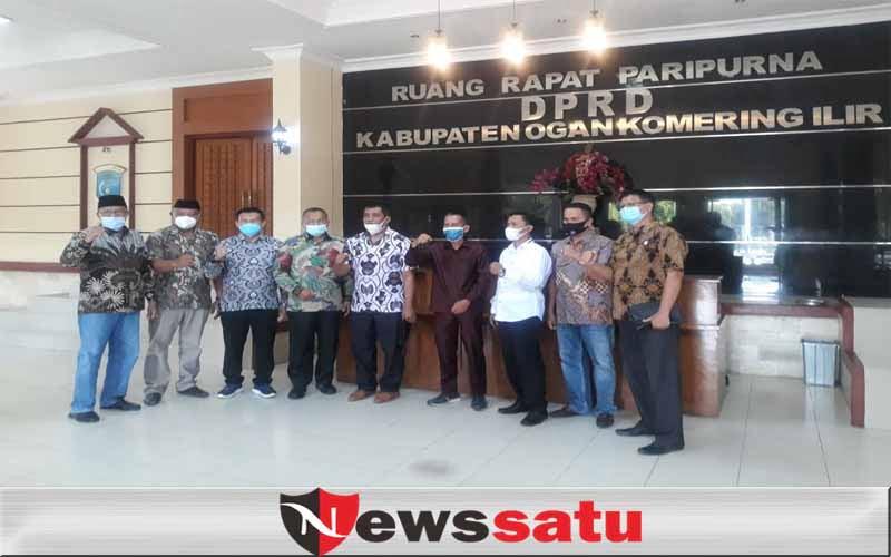 DPRD OKI Terima Kunjungan DPRD Lampung Tengah