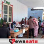 HUT Bhayangkara Ke 75, PMI Kota Probolinggo Gelar Vaksinasi Gratis