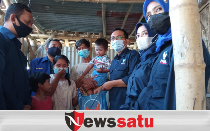 Partai Nasdem Kota Probolinggo Sambangi Warga Miskin