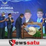 Gubernur Sumsel dan Bupati OKI Hadiri Rakorda NasDem