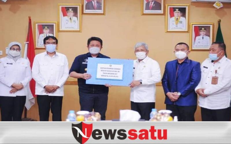 Kabupaten OKI Terima Kucuran Dana Bangub Untuk Pembangunan Infrastruktur