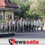 Apel Bersama TNI-POLRI dan Pemkab, Sinergi Jaga Masyarakat Kabupaten Sampang Dari Covid-19