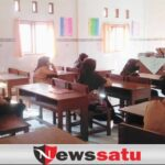 Peduli Lembaga pendidikan Sehat, Polisi Mengajar di MTS Al Mukhlisin Pamekasan