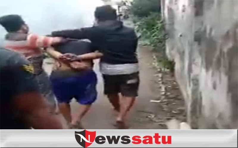 Pencuri Motor Di Kota Probolinggo Babak Belur Dihajar Massa
