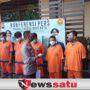 Polres Probolinggo Kota Ringkus 6 Pengedar Narkoba