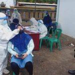 Polsek Ketapang Gelar Vaksinasi Covid-19 dan Swab Antigen Acak di Terminal Perbatasan