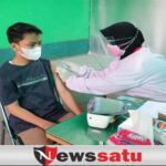 Anak Anggota Korem 083 Baladhika Jaya Jadi Target Serbuan Vaksinasi
