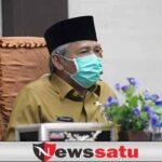 Bupati H Iskandar SE Hadiri Rapat Paripurna Pembahasan Rancangan KUA PPAS Tahun 2022