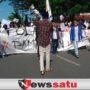 Massa Aksi Kepung Kantor Pemkab Pamekasan, Pertanyakan Penanggulangan Pandemi