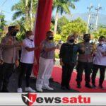 PPKM Darurat, Polres se Malang Raya bersama Pengusaha Salurkan Ribuan Paket Sembako