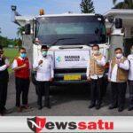 PT OKI Pulp and Paper Mills Bantu Pemkab OKI 15000 Liter Oksigen Liquid
