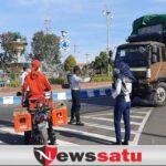 Patroli Gabungan Tindak Truk Masuk Kota Probolinggo