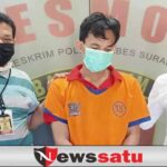 Penjual Tabung Oksigen Fiktif Diborgol Polrestabes Surabaya
