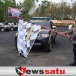 Polres Pamekasan Serahkan Bansos 52 Ton dari Pemerintah kepada Masyarakat