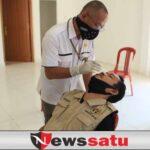 Rentan Terpapar, Pemkab OKI Rapid Test Puluhan Wartawan