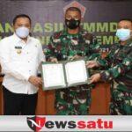 TMMD ke 111 Tahun 2021 di Sampang 100 Persen Rampung dan Sukses