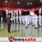 Bupati Baddrut Tamam, Minta Pemuda Resapi Filosofi Bendera Merah Putih