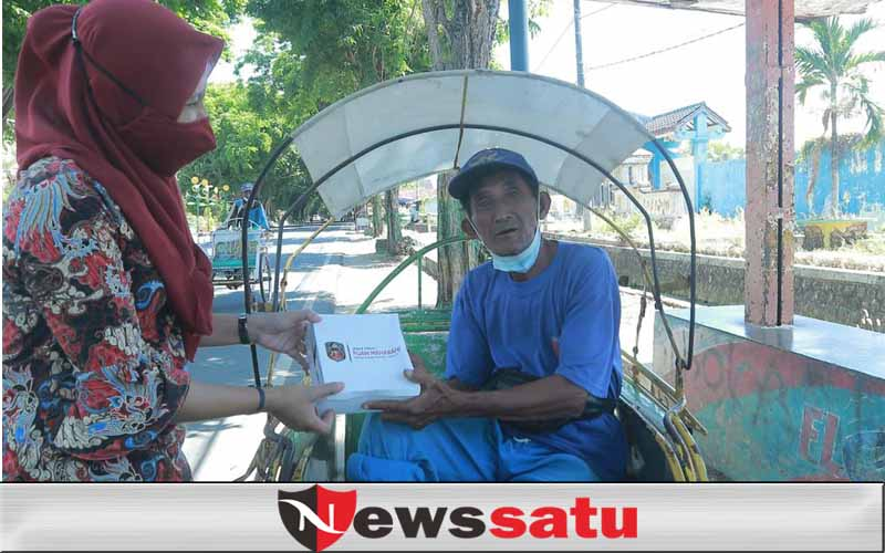 Covid-19, Relawan Puan Bersama MH Said Abdullah Bagikan 60 Ribu Nasi Kotak Di Sumenep