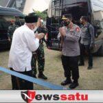Forkompimda Jatim Bersama Panglima TNI dan Kapolri, Vaksinasi Pesantren Tebu Ireng Jombang
