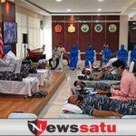 Lanal Palembang Bersama PMI Adakan Donor Darah Plasma Konvalescent dan Donor Darah Maritim