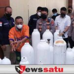 Penjual Tabung Oksigen Palsu di Surabaya Diungkap Polda Jatim