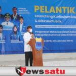 Bupati Fauzi Hadiri Pelantikan PC PMII Sumenep