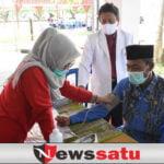HUT PMI ke-76, Wabup OKI Ajak PMI Bersinergi Atasi Pandemi