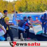 Polairud Sampang Kawal 2000 Vaksin ke Mandangin Sampang