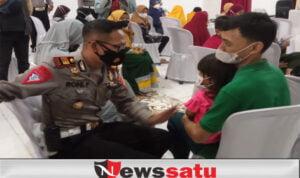 Sebanyak 59 Anak Asuh Dapat Bantuan Di HUT Lalu Lintas Bhayangkara ke 66
