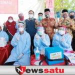 Sehari Pemkab Vaksinasi 1068 Orang, Harapkan Ekonomi Pamekasan Pulih