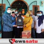 Siaga Baznas dan Dinsos OKI bagi Korban Kebakaran di Tengah Pandemi