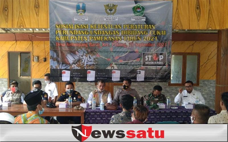 Sosialisasi Cukai di Pelosok, Pemerintah Dorong Industri Rokok Bermutu di Pamekasan
