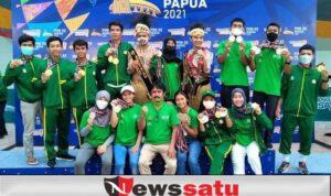 Kontingen FPTI Jatim Sabet Juara Umum PON XX 2021 di Papua